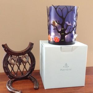 PartyLite Halloween candle holder